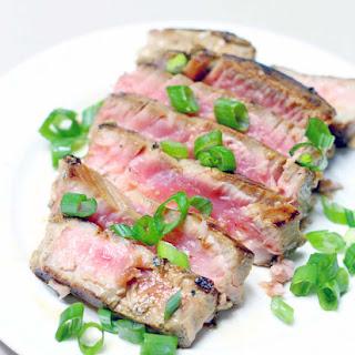 Six-Minute Seared Ahi Tuna Steaks Recipe