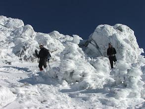 Photo: Sculture di ghiaccio sul Dolcedorme
