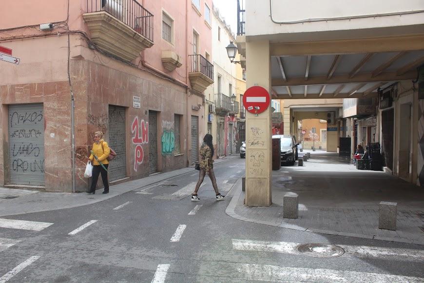 Las Cuatro Calles, en calle Real.