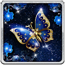Blue Butterfly Live Wallpaper file APK Free for PC, smart TV Download
