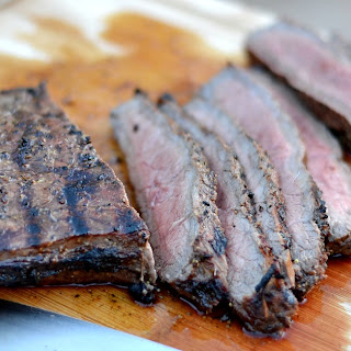 Grilled London Broil Marinade.