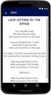 Pat Boone Songs Lyrics - náhled