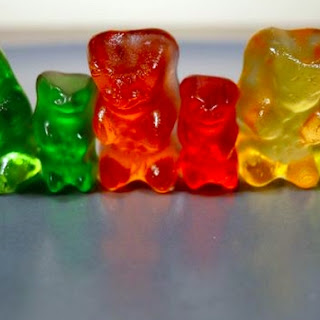 Vodka & Triple Sec Gummy Bear (Drunken Gummy Bears).