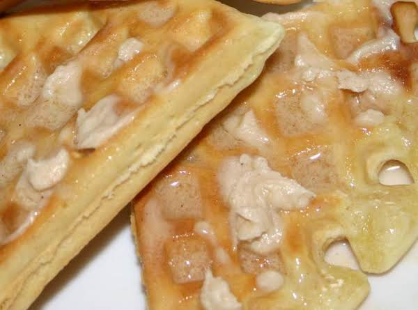 Left Over Waffles, The Next Day, Toasted And Slathered With This Maple Honey Butter! :o)