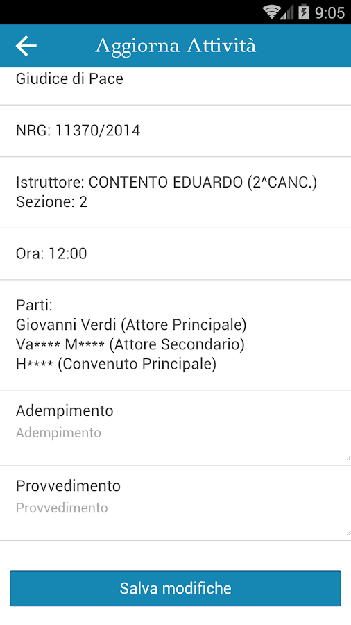 Agenda Legale - ML- screenshot