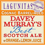 Lagunitas Cognac Barrel Aged Davey Murray's Best Scotch Ale W/ Lemon & Orange Juice