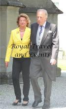 Photo: Prince Andrras and Princess Luise zu Hohenlohe-Langenburg