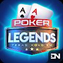 Poker Legends: Free Texas Holdem Poker Tournaments icon