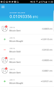 Bitcoin Wallet - CoinCorner- screenshot thumbnail