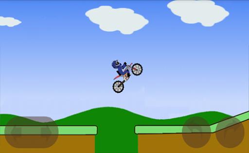 Motorbike Hill Climb