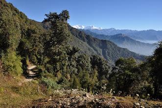 Photo: Entre Deurali et Lali kharka (Kangchenjunga et Kabru)