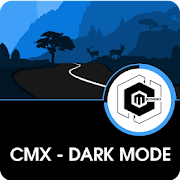 CMX - Dark Mode · KLWP Theme