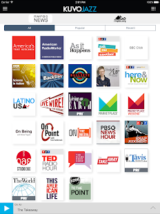 KUVO Public Radio App- screenshot thumbnail
