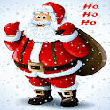 Santa Snow Live Wallpaper icon