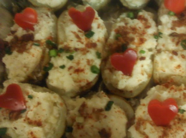 Clean potatoes, dry with towel and rub with olive oil. Sprinkle with salt and...