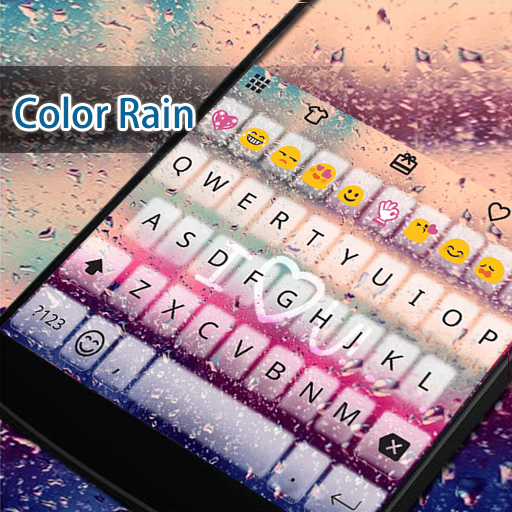 Heart Rain Eva Keyboard -Gif 遊戲 App LOGO-硬是要APP
