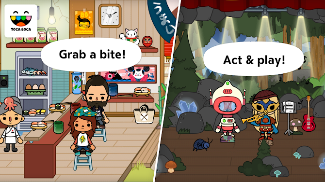 Toca Life: City Android 4