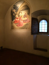 Photo: Each room was very simple: a bed and a painting by Fra Angelico