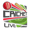 Live Cricket Score - Ball-by-ball Commentary icon
