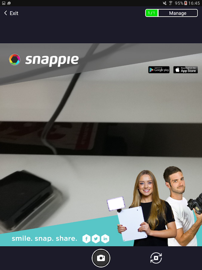 Snappie 2.0- screenshot