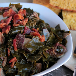 Southern Slow Cooked Collard Greens Recipe