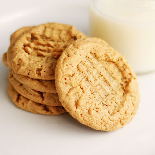 Chewy Peanut Butter Cookies.