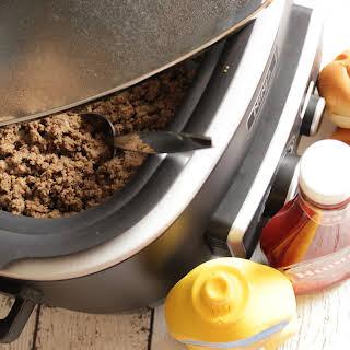 Maid Rite Recipe in the Crock Pot.
