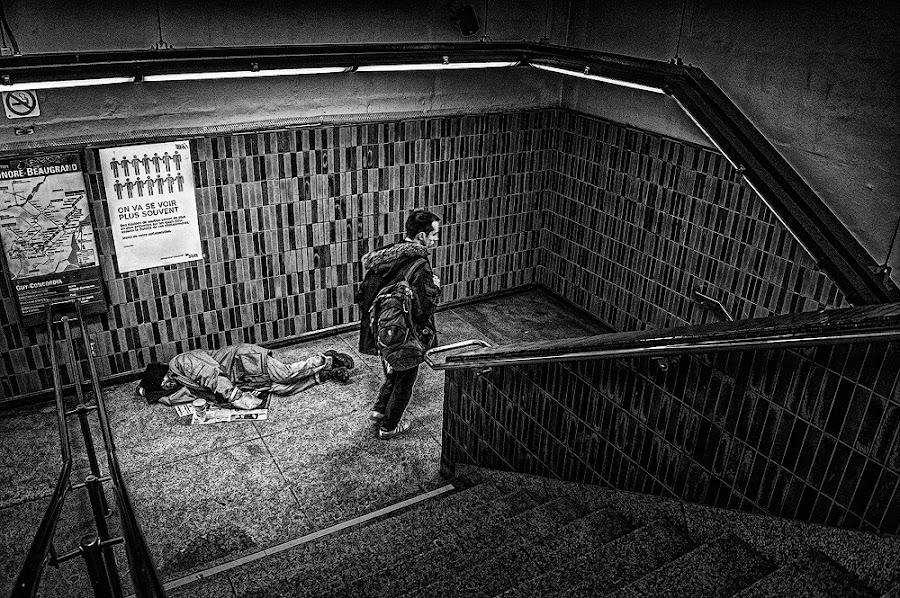 The Stage of Life by Dragan Milovanovic - City,  Street & Park  Street Scenes (  )