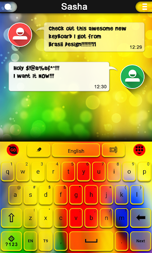 Awesome Colors keyboard
