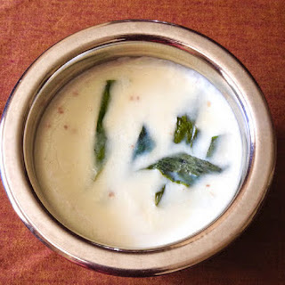 Tandla Pithachi Kheer (Rice Flour Pudding).