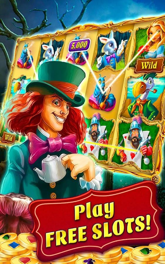Play Adventures in Wonderland Slot at Casino.com Canada