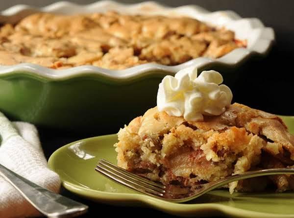 Swedish Apple Pie image