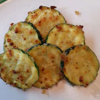 Oven Roasted Garlic Parmesan Zucchini Recipe