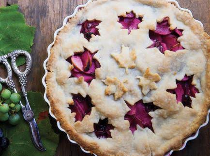 Grape & Apple Pie Recipe