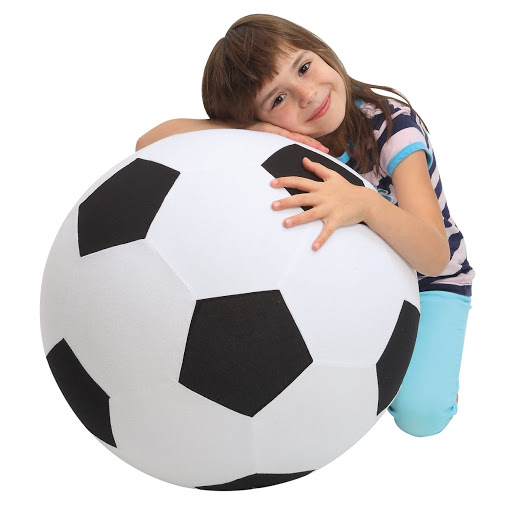 Giant Inflatable Football - Fleece Covered