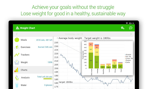 Calorie Counter - MyNetDiary- screenshot thumbnail
