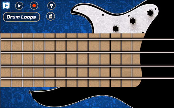 electric bass guitar apk 1 5 free music games for android. Black Bedroom Furniture Sets. Home Design Ideas