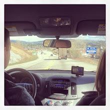 Photo: Driving to Mission, BC #intercer #car #drive #mapleridge #mission #abbotsford #road #street #truck #cars #wheel #mirror #travel #hill #sun #sunshine #life #warm #gps #city #cities #peisage #nature #speed #britishcolumbia #canada #nice - via Instagram, http://instagram.com/p/XNcbNCpfo-/