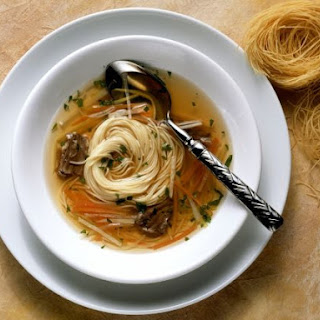 Beef and Broth with Vermicelli.
