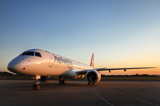 Helvetic Airways Receives First Embraer E2-E195