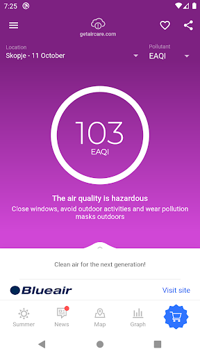 Air Quality - AirCare screenshots 1