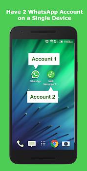 Dual WhatsWeb: 1 WhatApp Acc in 2 Phone(Multi WA)
