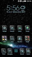 screenshot of Starlight ASUS ZenUI Theme