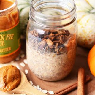 Pumpkin Pie Cookie Butter Overnight Oats