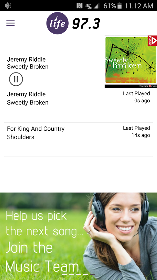 Life 97.3- screenshot