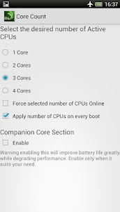 Tegra Overclock 1.7.3CN APK Mod for Android 3