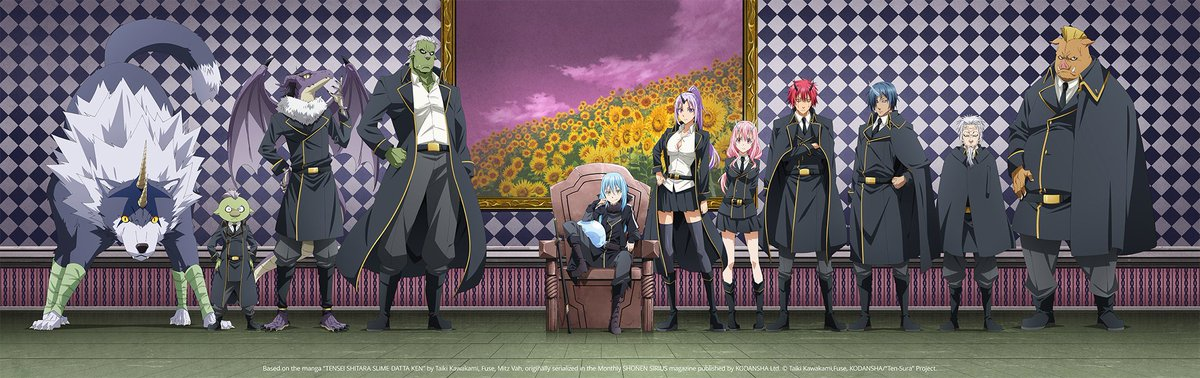 That Time I Got Reincarnated as a Silme Title Card