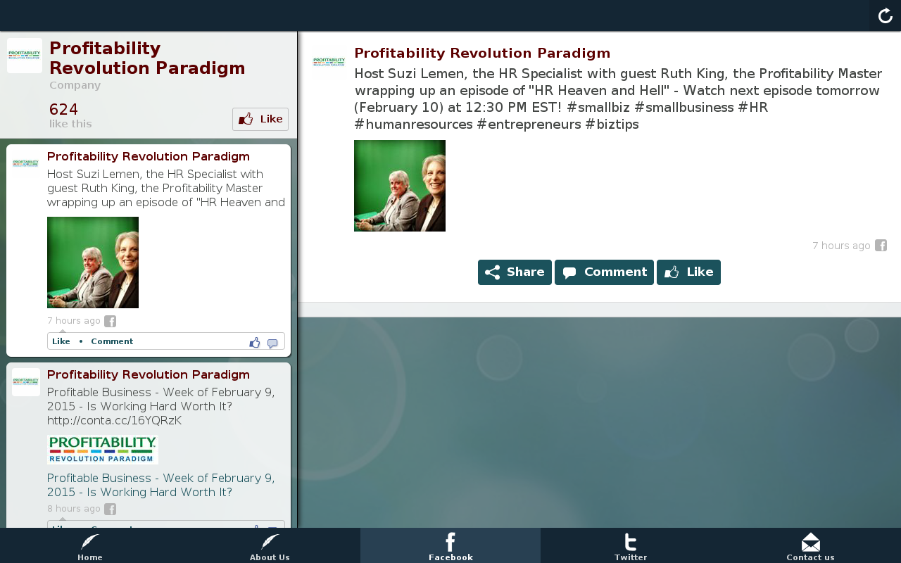 Profitability Revolution Para- screenshot