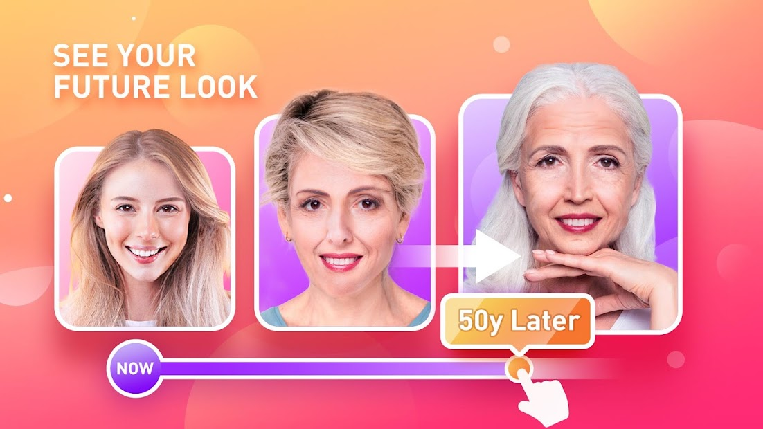 Face Master-Aging Shutter, Face Scanner Android App Screenshot