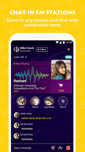 LAMMA - Meet people by Video Chat, Voice Chat - screenshot